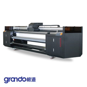 3.2m UV Roll To Roll Printer With 4/5/6 Ricoh Gen5 Print Heads