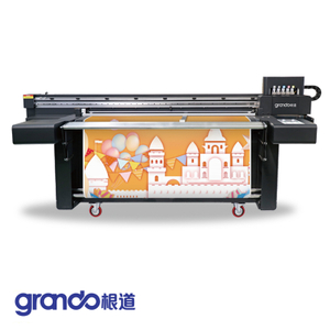 1.6m UV Flatbed & Roll To Roll Printer With Three/Four Industrial Heads