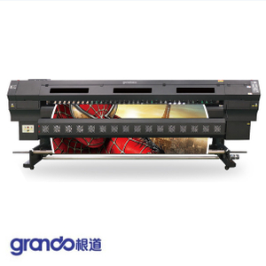 3.2m Eco Solvent Printer With Three DX5 Print Heads