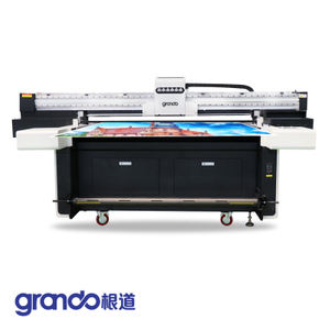 1.55m UV Flatbed & Roll To Roll Printer With 4/5/6 Industrial Heads