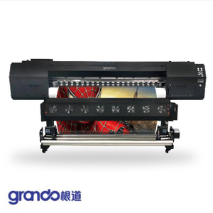 1.8m Eco Solvent Printer With Three DX5 Print Heads