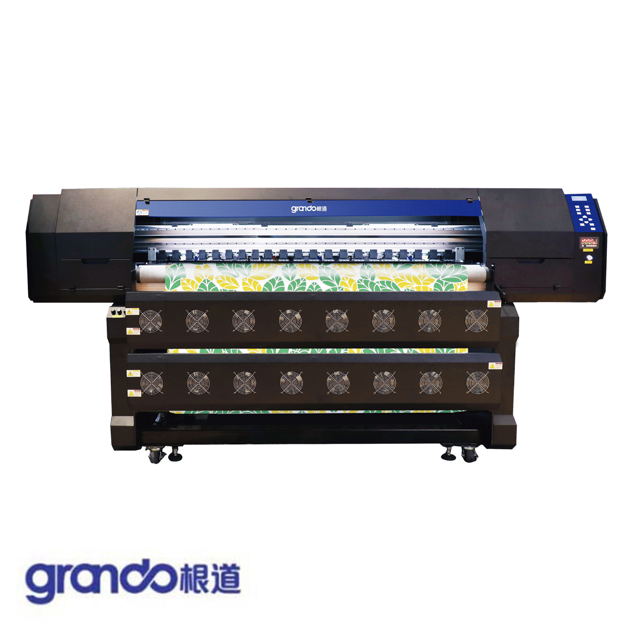 1.8m Sublimation Printer With Six I3200 Print Heads