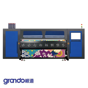 2.2m Industrial Rubber Roll Dye Sublimation Printer with Eight I3200 print heads