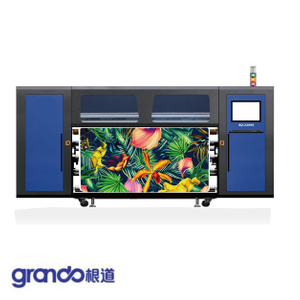 2.2m Industrial Rubber Roll Dye Sublimation Printer with Four S3200 print heads