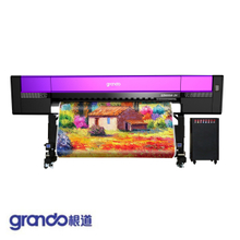 1.8m High-speed multi-layer texture painting printer with six Ricoh Gen5i print Heads